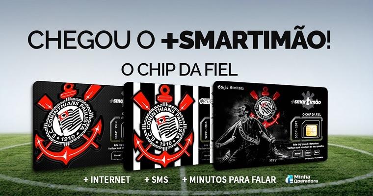 Smartimão é a operadora de telefonia celular do Corinthians