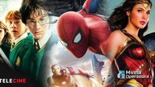 Filmes da Warner e Sony começam a circular nos canais Telecine