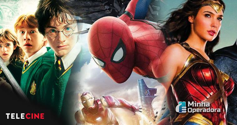 Filmes da Sony e Warner no Telecine