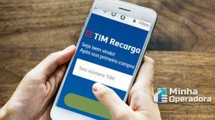 TIM libera recarga via WhatsApp para celulares pré-pagos