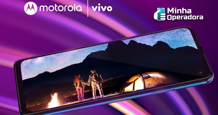 Visual do Motorola One Vision