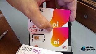 chip de celular Oi Pré