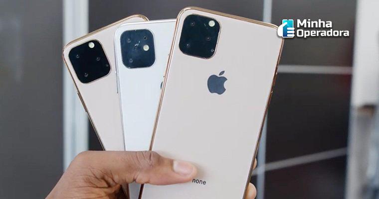 Rumor sobre o design do iPhone XI. Divulgação