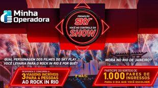 SKY levará assinantes ao Rock in Rio 2019