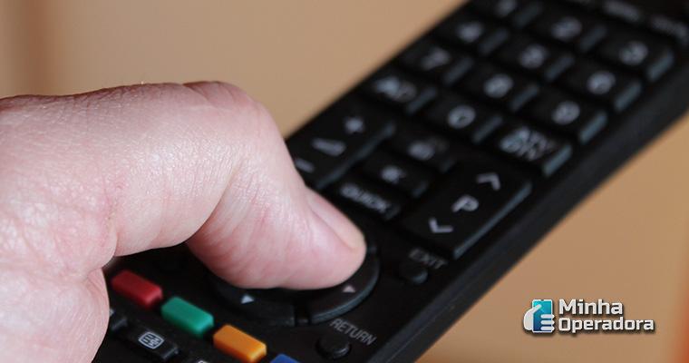 Ilustração TV por assinatura