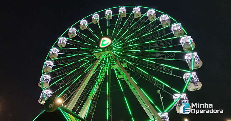 Roda gigante da Game XP. Parque Olímpico do Rio de Janeiro