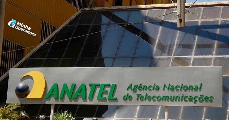 fachada do prédio sede da Anatel (Agência Nacional de Telecomunicações)