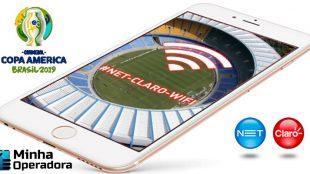 Claro leva Wi-Fi para a final da Copa América 2019