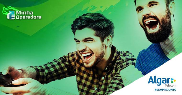 Banner das redes sociais da Algar. Imagem: Divulgação