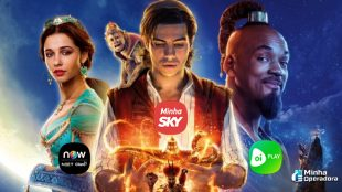 Aladdin em live-action chega no SKY Play, NOW e Oi Play