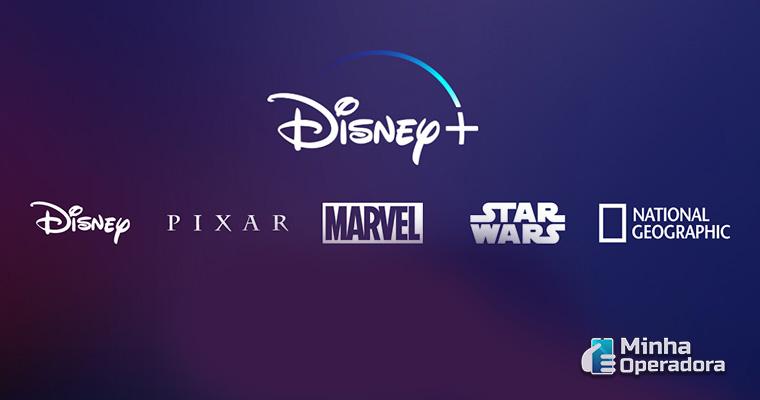 Interface do Disney+