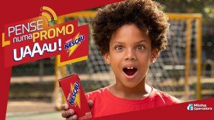 Promoção Nescau Uau dá recarga de celular grátis