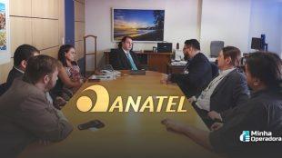 Reunião da Anatel com Emmanoel Campelo