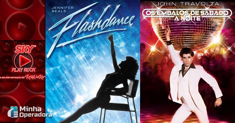 Flashdance e Embalos de Sábado à Noite (Pôsteres)