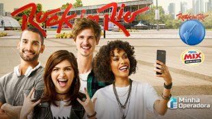 Oi e Rádio Mix podem levar você e mais três amigos ao Rock in Rio
