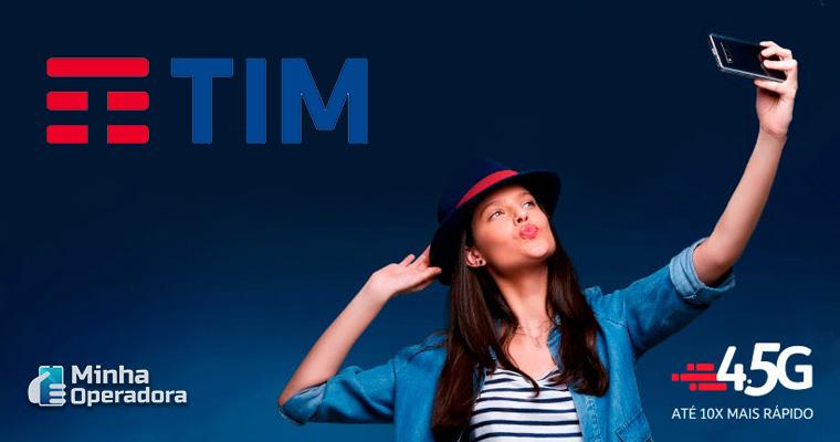 Anúncio homepage da TIM