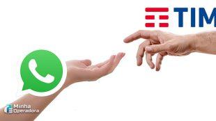 Clientes da TIM já podem receber fatura via WhatsApp