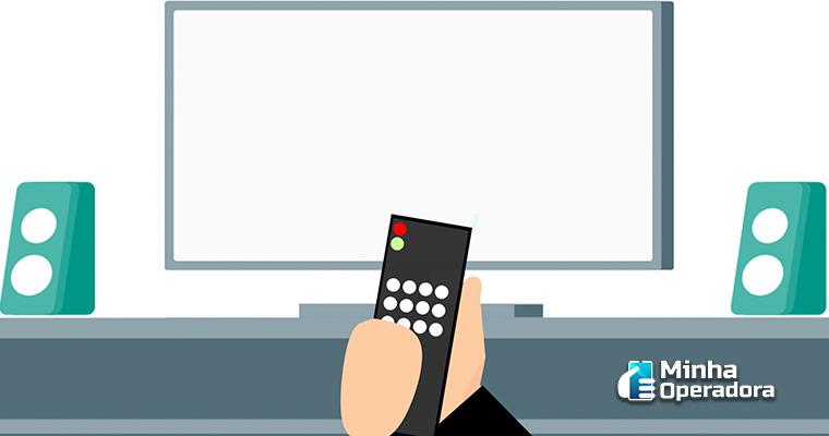 TV Desligada - Ilustração