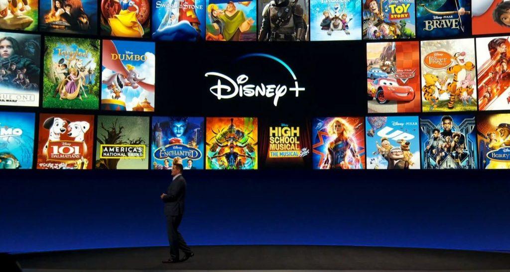 Apresentação do Disney+. Imagem: Engadget