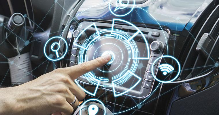 Ilustração tecnologia holográfica