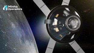 Astronautas usarão comunicação a laser para telefonar para casa