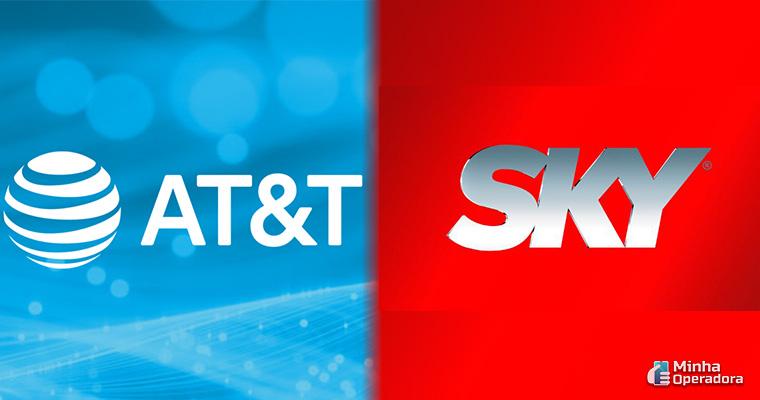 Divulgação AT&T e SKY