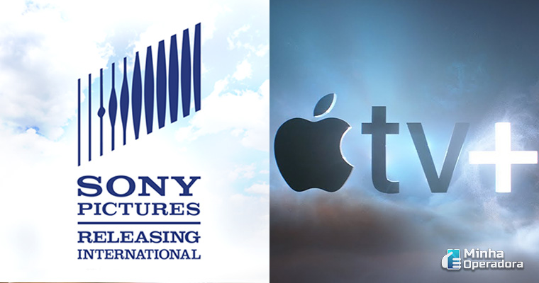 Logotipo Sony Pictures e Apple TV+