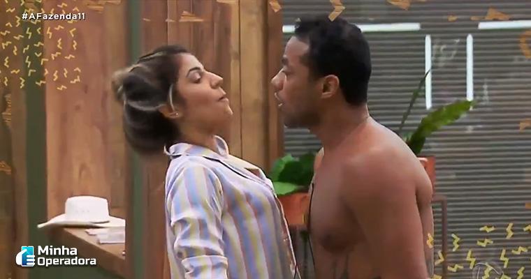 """Imagem do reality """"A Fazenda"""". TV Record"""