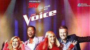 SKY levará assinantes para gravação do The Voice nos EUA