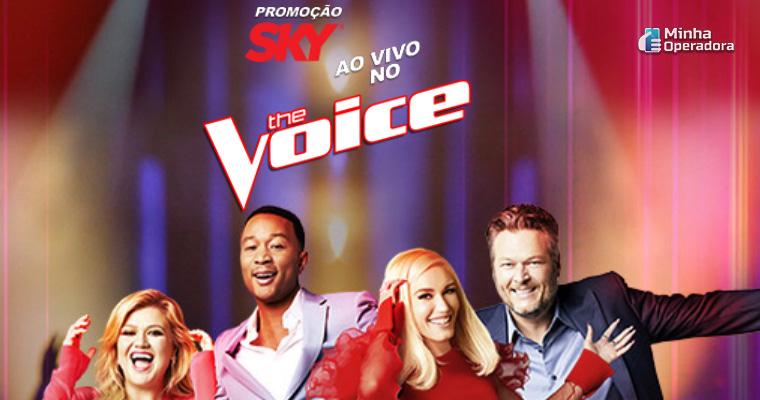 Divulgação The Voice na SKY