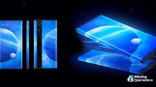 Xiaomi inova com smartphone 5G e tela nas bordas e traseira