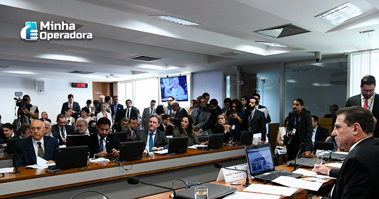 Comissão do Senado aprova texto para nova lei de telecomunicações