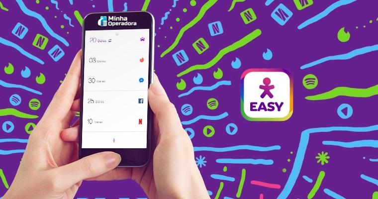 mudanças no aplicativo Vivo Easy