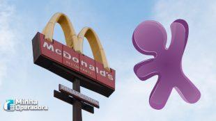 Vivo fornecerá conectividade para unidades do McDonald's