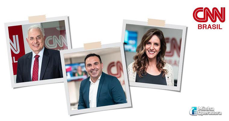 Divulgação CNN Brasil nas redes sociais