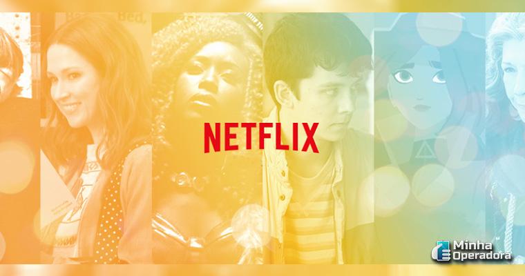 Divulgação Netflix no Facebook