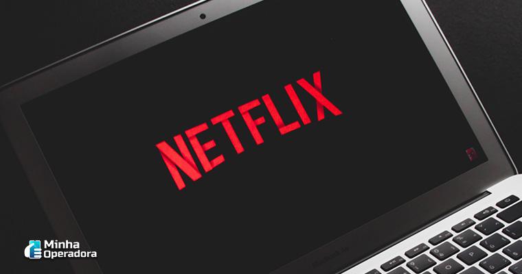 Notebook com Netflix