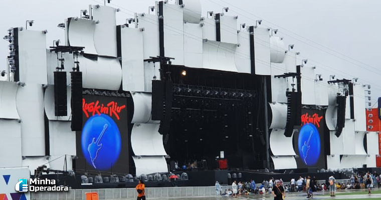 Palco mundo do Rock in Rio