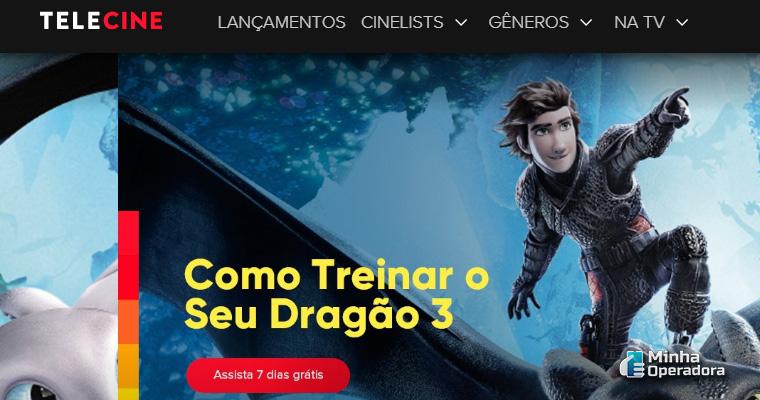 Site do Telecine Play
