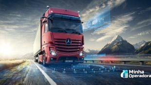 Novo caminhão da Mercedes-Benz terá conectividade da Vivo
