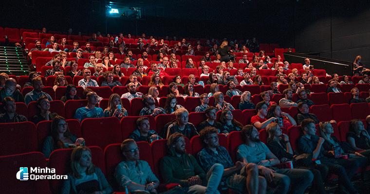 Cinema. Ilustração