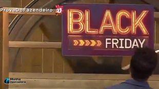 Após polêmica, Oi divulga Black Friday no reality 'A Fazenda'