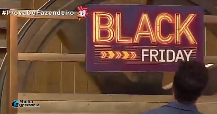 Prova realizada no reality A Fazenda, da TV Record.