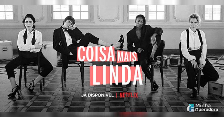 Ilustração. Série brasileira da Netflix