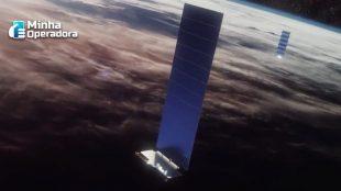 SpaceX lança mais 60 satélites do ambicioso projeto Starlink