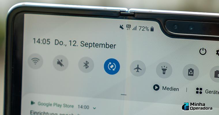 Imagem: Smartphone com 5G