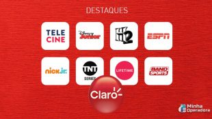 Claro net tv tem 26 canais com sinal aberto até quinta-feira, 2