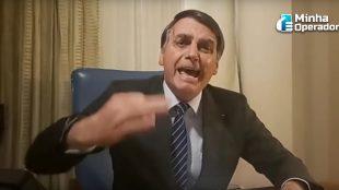 Bolsonaro quer mudar regras de concessão de TV