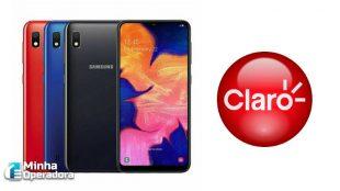 Cliente Claro ganha um Galaxy A10 na compra do S10