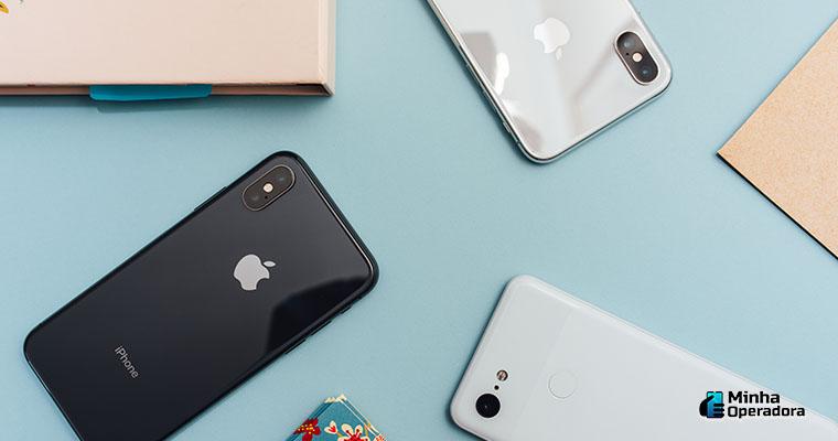 iPhones - Ilustração